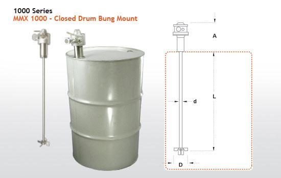Gallon Drum Paint Mixer Image